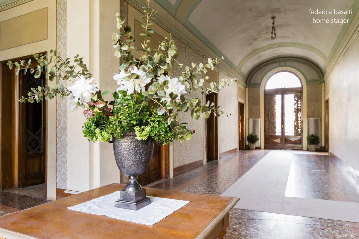 Corridoio principale ingresso - Home Staging su Case di pregio