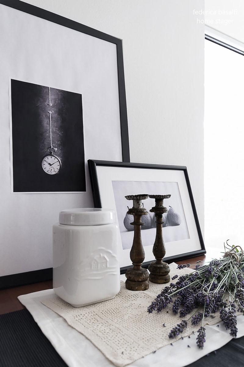 particolare console bologna appartamento - home stager