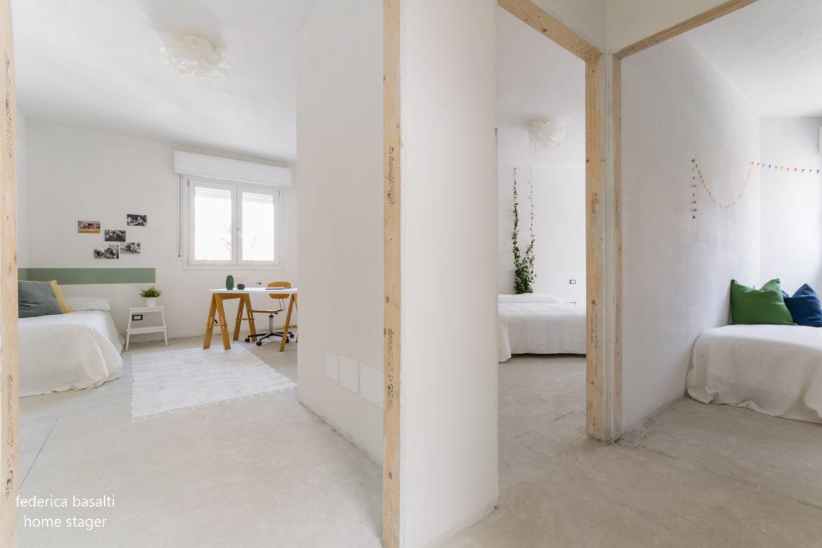 Home Staging: foto delle stanze dopo home staging