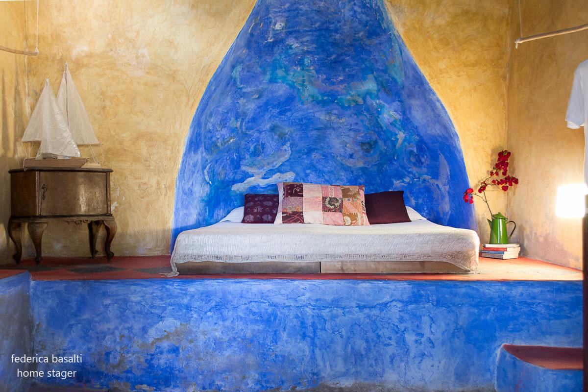 Camera da letto in casa vacanze - Federica basalti
