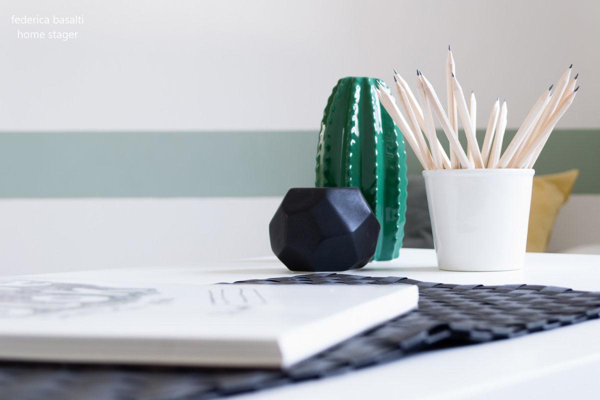 Home staging: particolare scrivania