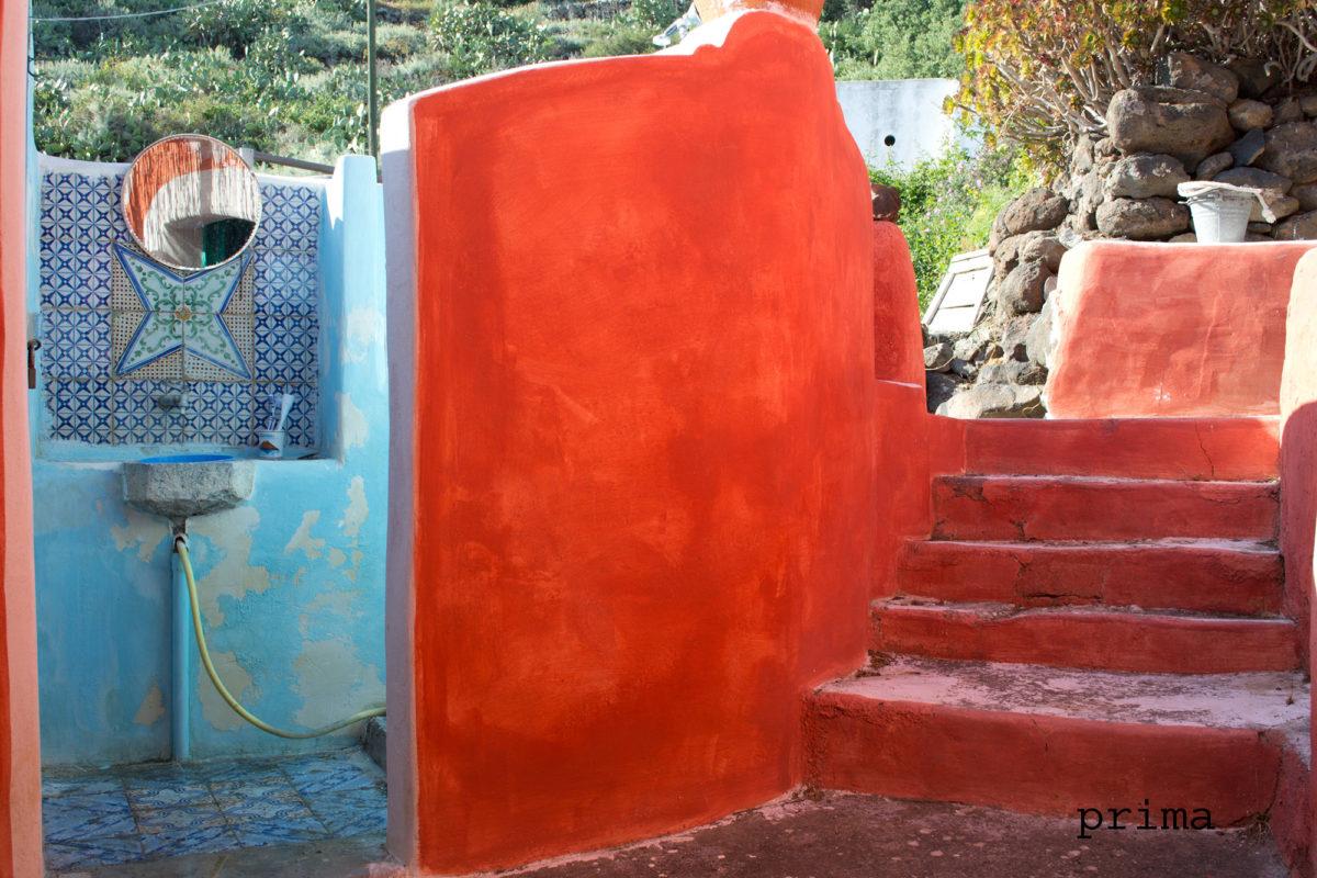 Esterno Casa vacanze - Alicudi - Home staging