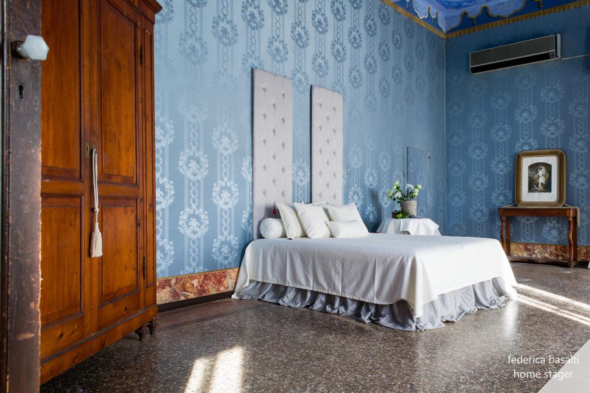 Camera da letto - Prima di intervento di Home Staging