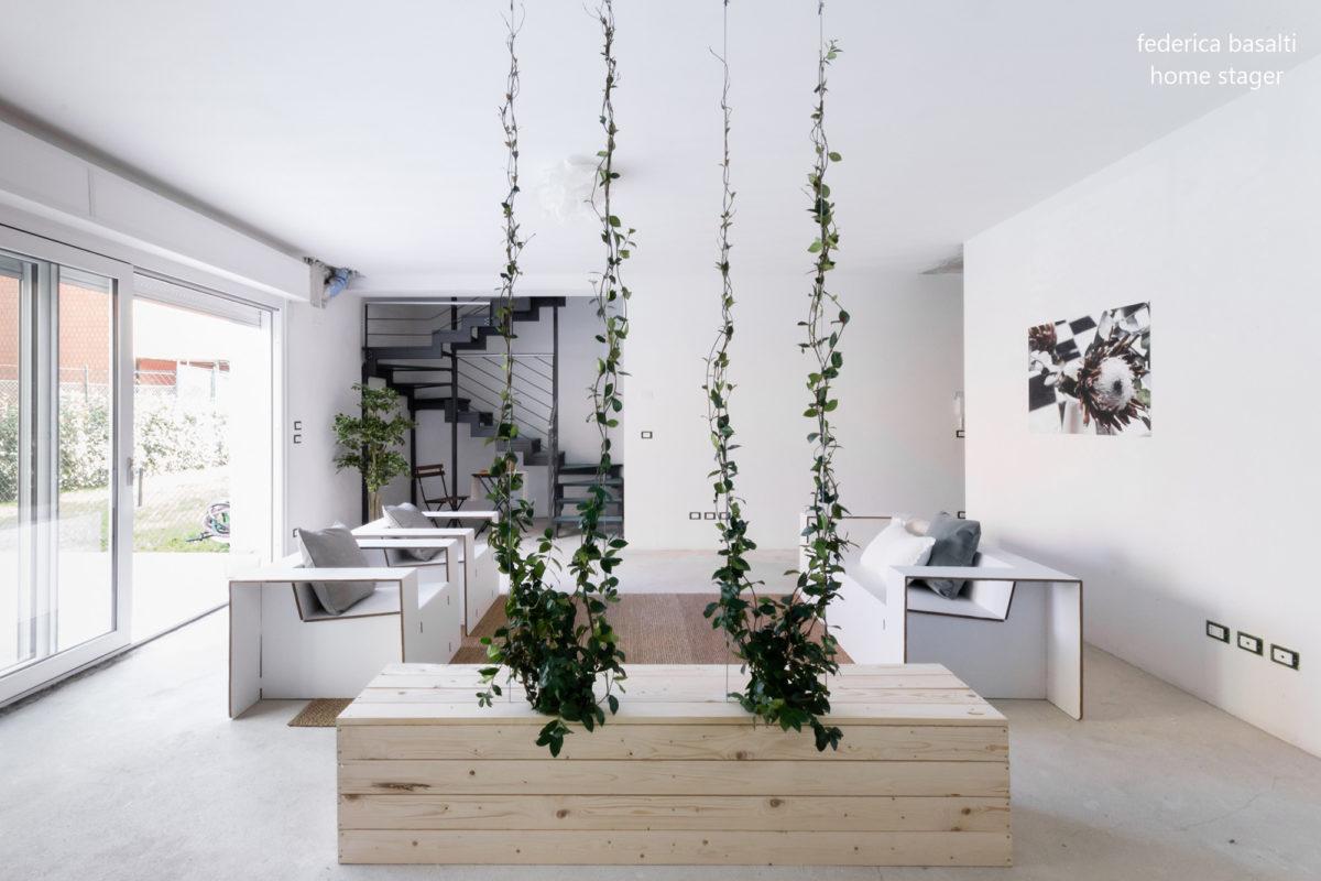 Salotto Casa dopo Intervento Home Staging - Federica Basalti
