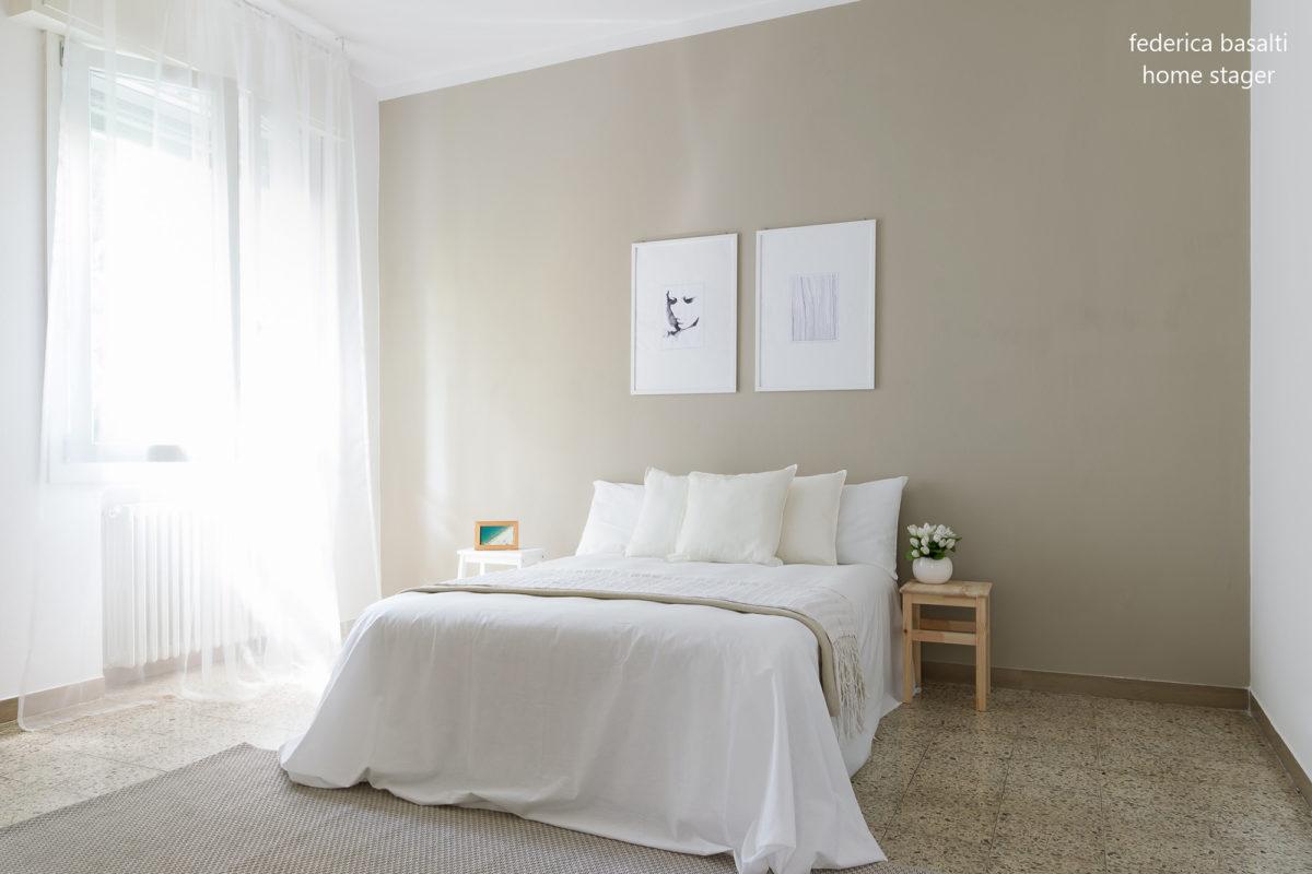 Foto camera da letto - Home stager Federica Basalti