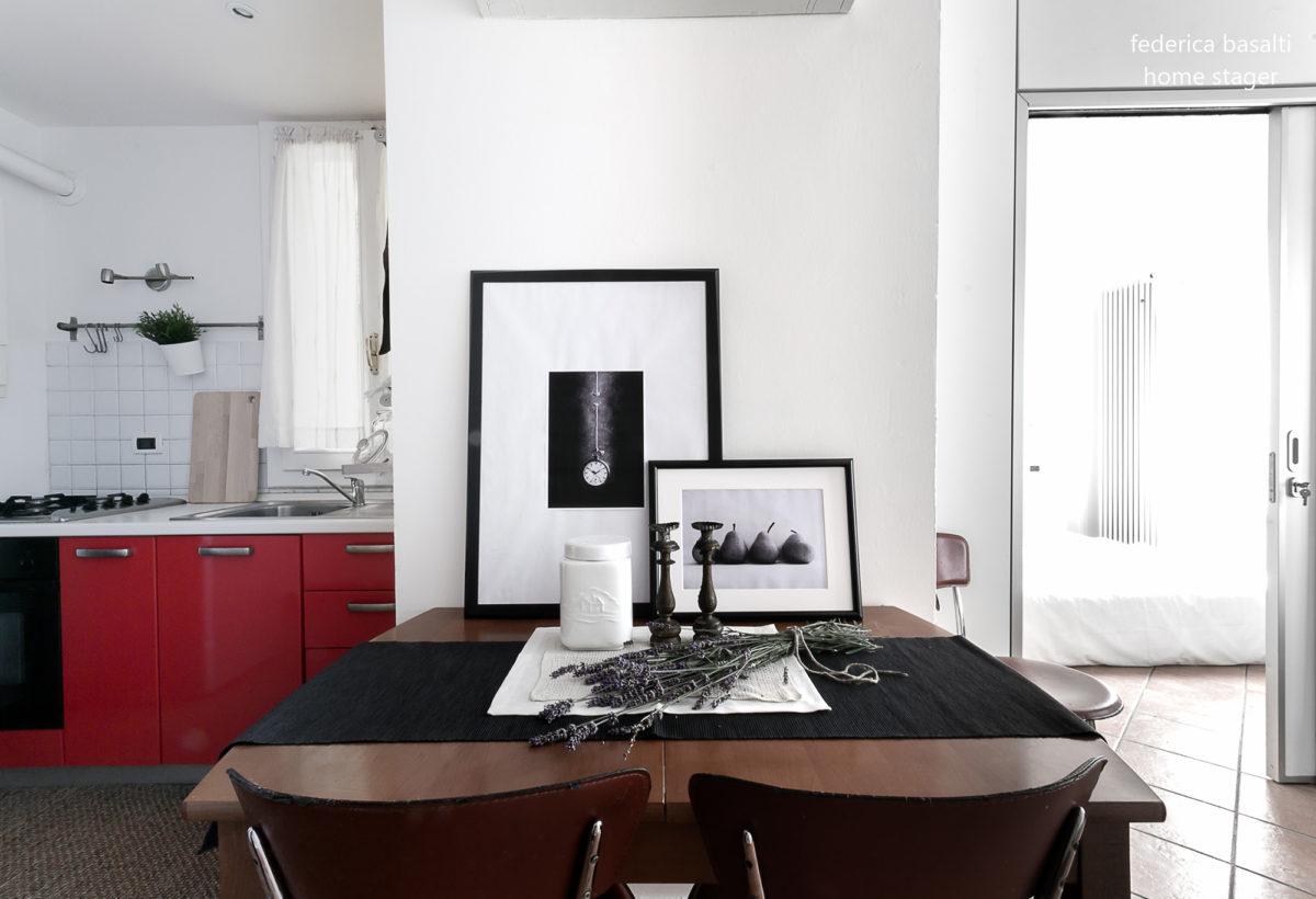 appartamento bologna - home staging Federica basalti