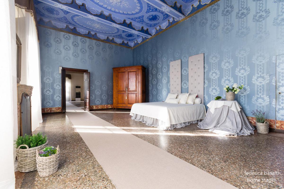 Camera da letto in Casa di Pregio - Dopo Home Staging